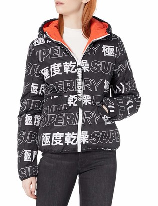 Superdry Women's Density Visions Reversible Puffer Jacket