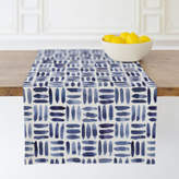 Minted Painted Pattern - Triple Weave Self-Launch Table runners