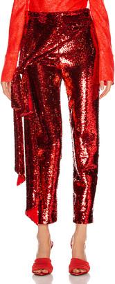 Hellessy Kennedy Pant in Scarlet | FWRD
