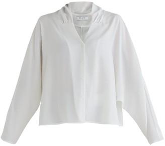 Paisie Sloane Blouse In White