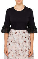 See by Chloe TEE WITH SPOT SLEEVES
