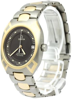 Omega Grey Titanium Seamaster Polaris Men's Wristwatch 31MM