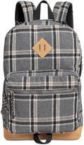 Steve Madden Men's Dome Plaid Classic Backpack
