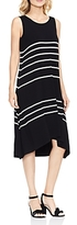 Vince Camuto Modern Stripe High/Low Dress