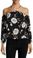 Lucca Couture Women's Louise Floral Top