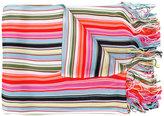 Missoni striped fringed scarf