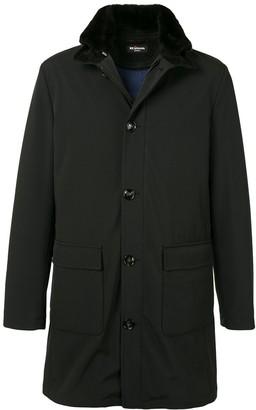 Kiton Elbow Patch Coat
