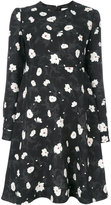 Carven floral print dress - women - Silk/Polyester/Acetate - 36