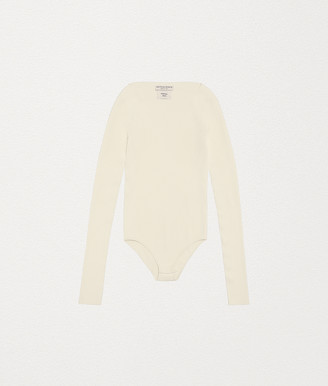 Bottega Veneta Bodysuit In Viscose