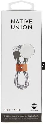 Native Union Belt Apple Watch charging cable Zebra