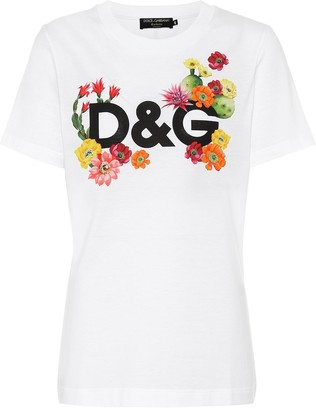 Dolce & Gabbana Exclusive to Mytheresa Logo cotton-jersey T-shirt
