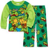 LICENSED PROPERTIES Boys Long Sleeve Teenage Mutant Ninja Turtles Kids Pajama Set-Toddler