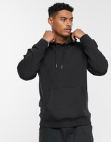 ONLY & SONS oversized hoodie sweat in black