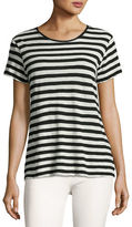 Proenza Schouler Cotton Tie-Back T-Shirt