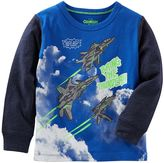 Osh Kosh Toddler Boy Long Sleeve Comic Book Graphic Tee