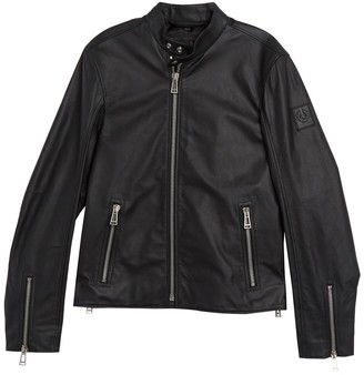 Belstaff Arnos Leather Moto Jacket