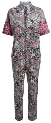 Etoile Isabel Marant Udena Paisley Print Jumpsuit