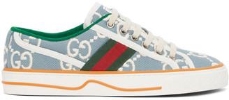 Gucci Blue GG Supreme Tennis 1977 Sneakers