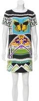 Mary Katrantzou Printed Silk Shirtdress