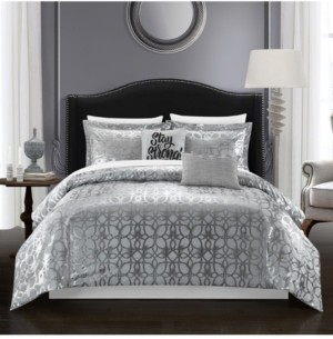 Chic Home Shefield 5 Piece King Comforter Set Bedding