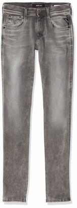 Replay Mens Anbass Slim Jeans Grey (Grey Denim 9) W36/L36