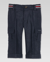 Gucci Flannel Cargo Pants