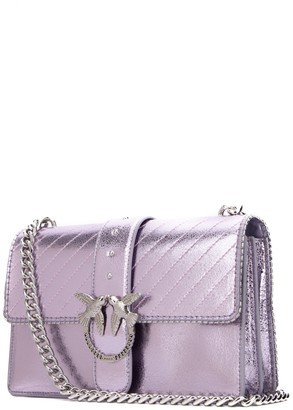 Pinko Love Chain Strap Shoulder Bag