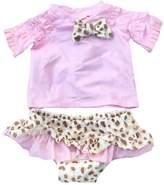 eKooBee Newborn Infant Baby Girls Swimwear Leopard Tankini Swimsuit