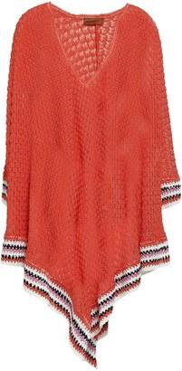 Missoni Mare Striped Crochet-knit Coverup