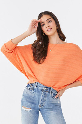 Forever 21 Ribbed Dolman Top