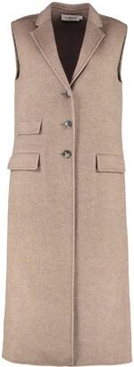 Tory Burch Wool Single-breast Waistcoat