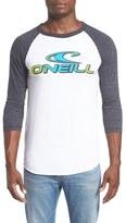 O'Neill 'Dimension' Logo Graphic Baseball T-Shirt
