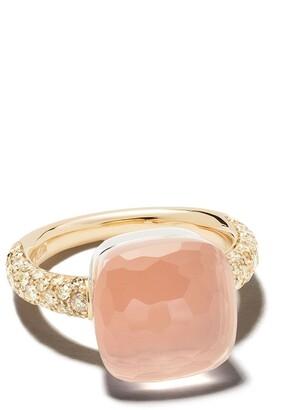 Pomellato 18kt Rose Gold Stone Ring