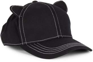 Karl Lagerfeld Paris Cat Ears Baseball Hat