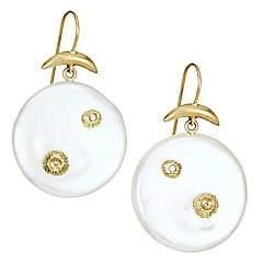 Annette Ferdinandsen Women's 18K Yellow Gold, Mother-Of-Pearl & Diamond Drop Earrings