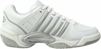 K Swiss Performance K-swiss Performance Ks Tfw Accomplish Ltr-white/silver/glcrgray-m Women's Tennis Shoes