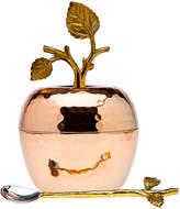 Godinger Copper Leaf Honey Dish