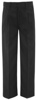 CAT George Boys Charcoal School Half Elasticated Waist Trousers