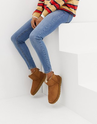 UGG Classic Mini II ankle boots in chestnut