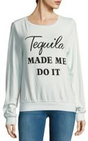 Wildfox Couture Long-Sleeve Printed Pullover