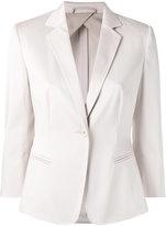 Max Mara one button blazer - women - Cotton/Spandex/Elastane/Acetate - 40