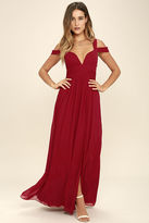 LuLu*s Bariano Ocean of Elegance Grey Maxi Dress
