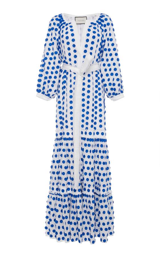Alexis Gaiya Dot Embroidered Dress