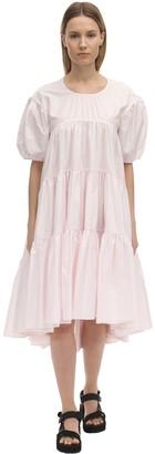 Cecilie Bahnsen Esme Cotton Poplin Midi Dress