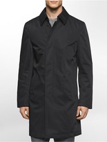 Calvin Klein X Fit Ultra Slim Fit Lightweight Black Raincoat