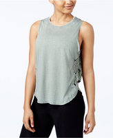 Gaiam Posey Lattice-Trim Tank Top