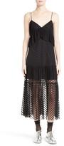 Robert Rodriguez Women's Polka Dot Lace Midi Dress