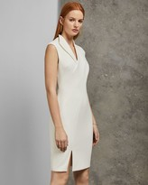 Ted Baker Wrap Front Pencil Dress