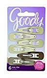 Goody Colour Collection Contour Hair Clips, Blonde, 6 Count (Pack of 3)