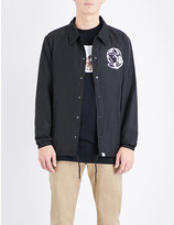 Billionaire Boys Club Logo-printed coach shell jacket